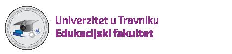 Edukacijski fakultet, Univerzitet u Travniku Mobile Logo