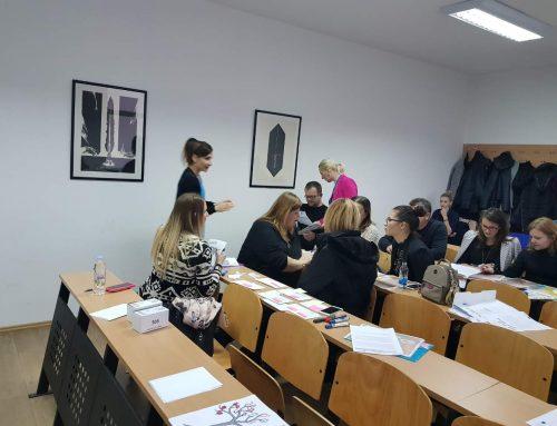 Projekat TEACHER: Drugi dan workshopa