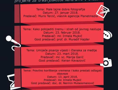 Workshopovi za studente i maturante na Edukacijskom fakultetu i Fakultetu za tehničke studije