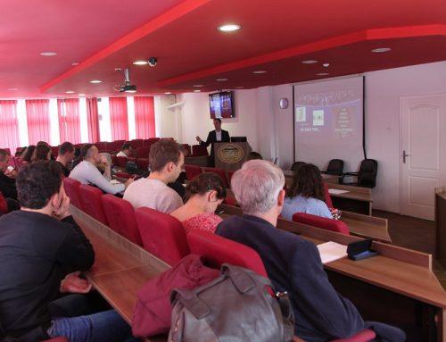 Ernad Karović, vrhunski košarkaški arbitar održao predavanje na Edukacijskom fakultetu