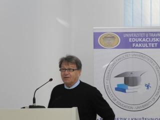Miroslav Ciro Blaževic gost predavac na Edukacijskom fakultetu