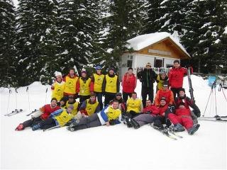 Nastava skijanja na Vlašicu