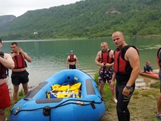 Praktična nastava na Boračkom jezeru 2015