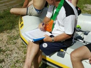Praktična nastava na Boračkom jezeru 2016