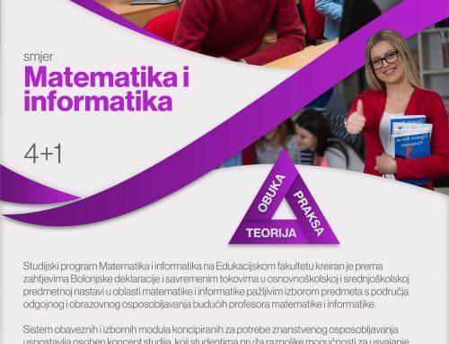 Studij Matematike i informatike