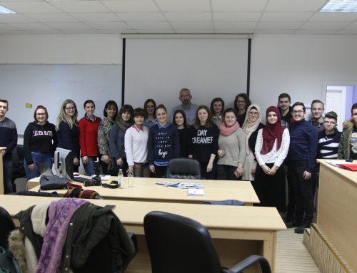 Studenti Edukacijskog fakulteta i Fakulteta za tehničke studije učili kako napisati vijest