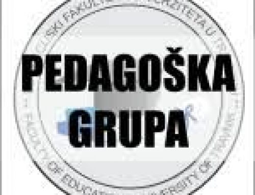 Pedagoška grupa predmeta-preuzimanje uvjerenja