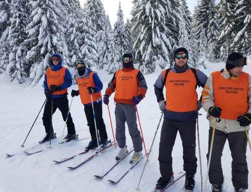 Praktična nastava iz predmeta Skijanje