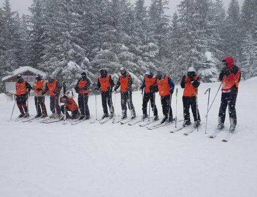 Praktična nastava skijanja na Vlašiću