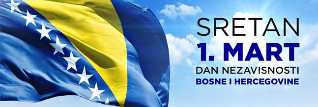 blusrcu.ba-Domovino, sretan Dan nezavisnosti!