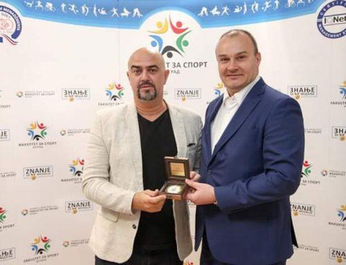 Profesoru Edukacijskog fakulteta Damiru Ahmiću na međunarodnoj konferenciji dodjeljena zlatna medalja za izuzetan doprinos promociji i afirmaciji sporta
