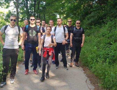 Studenti Opće kineziologije i Specijalnih namjena na planinarenju
