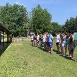 Studenti na Boračkom jezeru