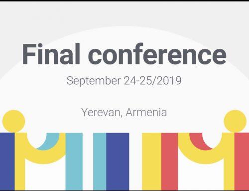 Najava: Završna konferencija Inclusion projekta u Yervanu!