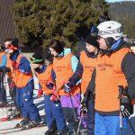 Prvi dan praktične nastave iz predmeta Skijanje