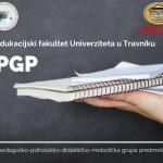 Pedagoška grupa predmeta: Prijava kandidata za upis u grupu septembar 2020.