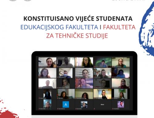 KONSTITUISANO VIJEĆE STUDENATA EFT & FTS