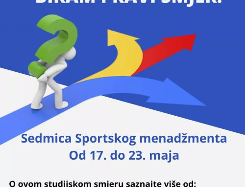 Pregled sedmice Sportskog menadžmenta